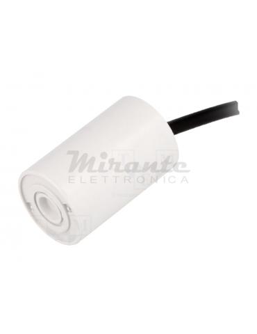 MIFLEX Condensatore per Motori Monofase 8uF 425VAC Ø35x55mm