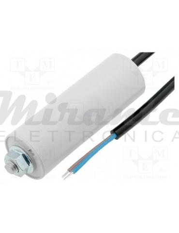 MIFLEX Condensatore per motori 40uF 450V 45x114mm