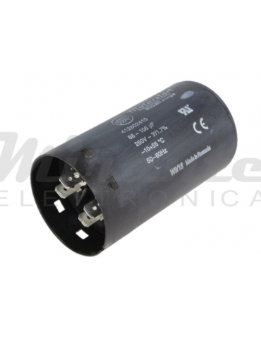 DUCATI ENERGIA Condensatore per Motori Bifase 100uF Ø45,5x84mm