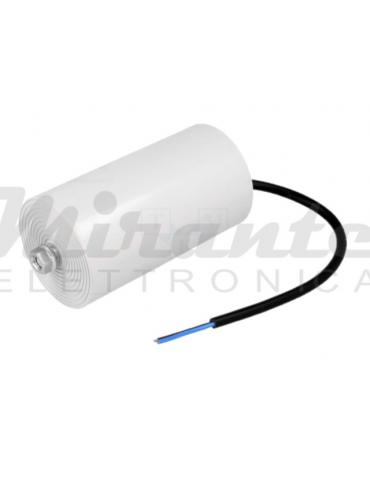 MIFLEX Condensatore per Motori 100uF 450V Ø65x120mm