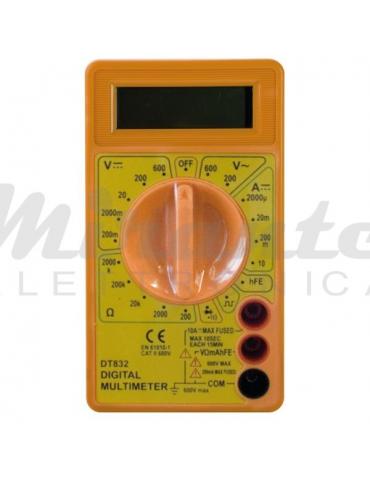 LIFE - Multimetro digitale tester compatto, 10A