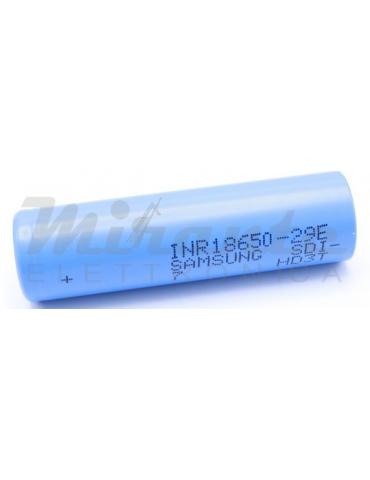 SAMSUNG INR18650-29E - Batteria 18650 3,7V 2900mAh LI-ION
