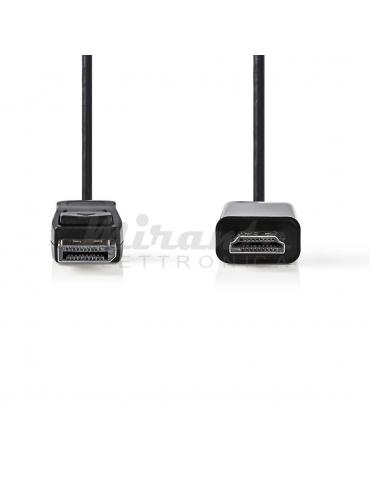 NEDIS - Cavo DisplayPort HDMI 2MT