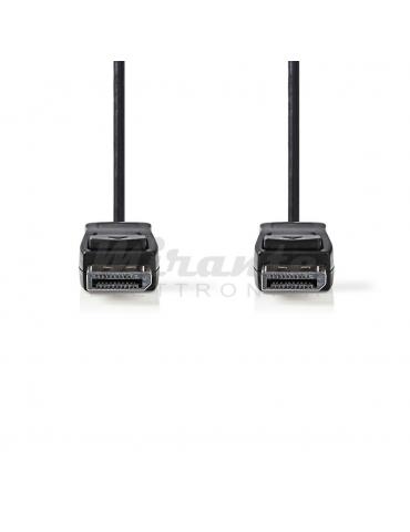NEDIS - Cavo DisplayPort maschio maschio 3mt, Nero