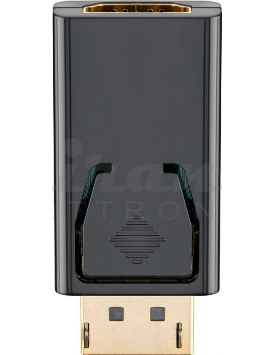 Goobay - Adattatore da DisplayPort a HDMI Presa