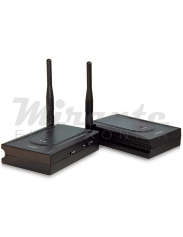 Metronic – Trasmettitore audio/video analogico, 5,8GHz - 1 sorgente, Nero