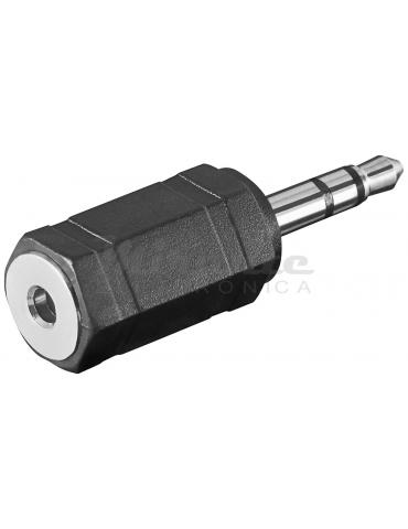 Adattatore Jack: da spina Jack 3.5mm Stereo - a presa Jack 2.5mm Stereo