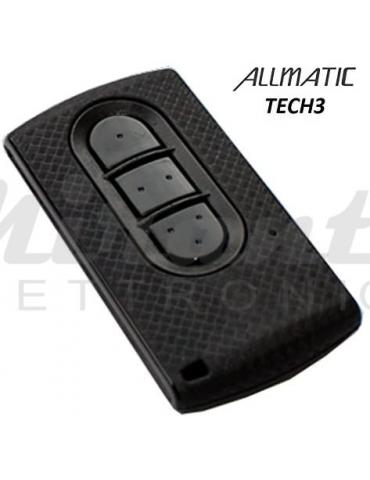 ALLMATIC TECH3 3 tasti radiocomando telecomando 433,92MHz