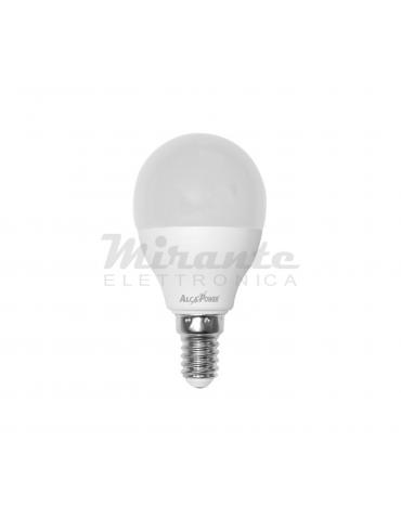 Alcapower - 8W Mini sfera LED Bianco Freddo E14