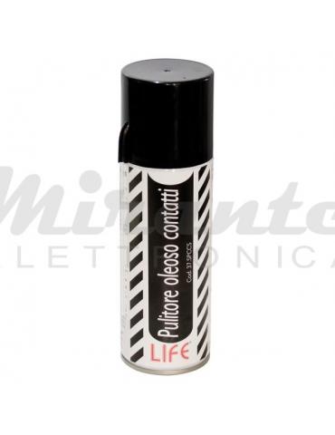 LIFE - Spray Pulisci Contatti Disossidante Oleoso, Trasparente