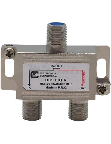 UV40 - Miscelatore Antenna Satellitare e Terrestre, Mix Demix