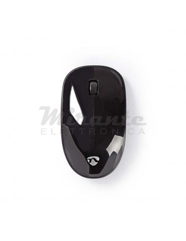Nedis - Mouse Senza Fili Wireless 3 pulsanti 1000 DPI, Nero