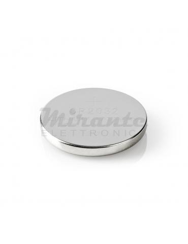 NEDIS Batteria a bottone, al litio CR2032