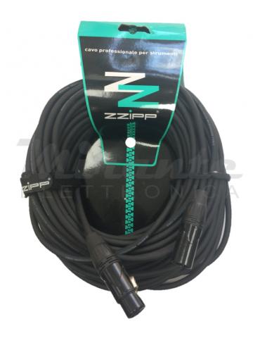 ZZIPP - Cavo per Microfoni Cannon Maschio Cannon Femmina, 20 metri