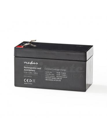 NEDIS - Batteria al piombo Ricaricabile 12V 1.3Ah