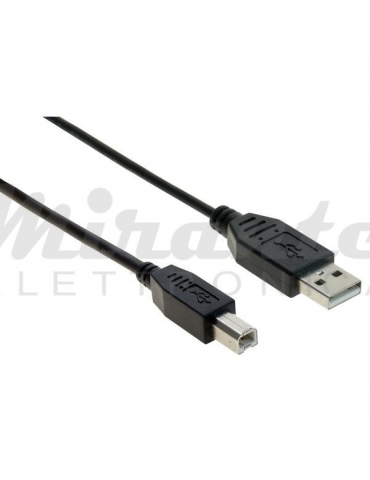 Life - Cavo USB 2.0 maschio A / maschio B (5 m)