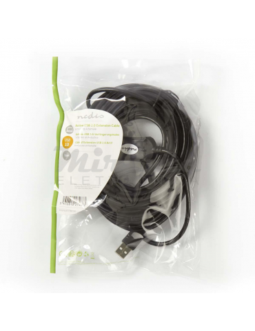 Nedis - Cavo prolunga USB 2.0, 10 metri