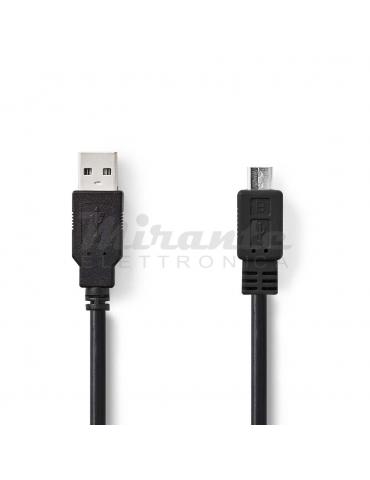 Nedis Cavo USB Micro Usb 2.0, 3 metri