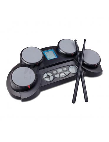 MEDELI DD61 Batteria Elettronica portatile a 4 pad con indicatori lampeggianti e sensibilità al tocco