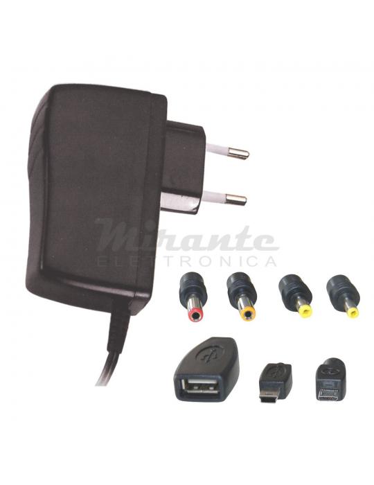 Alimentatore universale 5V - 2.5 Amp - 951016 - Mirante Elettronica Acilia