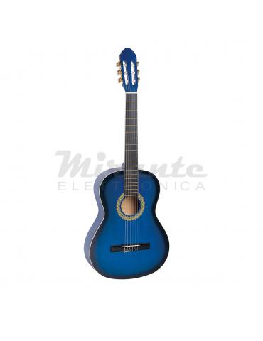 TOLEDO PRIMERA STUDENT 3/4 Chitarra classica 3/4, Blue Sunburst