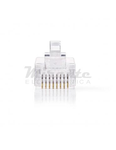 Nedis - Connettore di rete Plug RJ45 8poli maschio per cavi UTP Cat 5