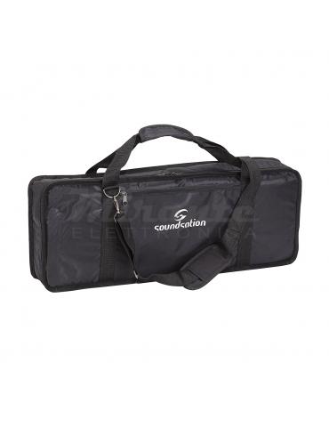Borsa per tastiera con tasca e tracolla 66x22.5x0.8cm per Casio SA76 77 e Medeli