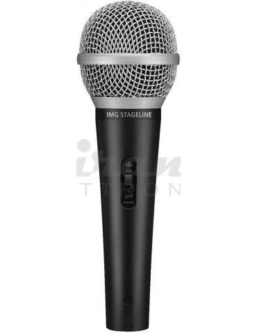 IMG Stage Line DM1100 Microfono dinamico Cardioide per Voce e Canto