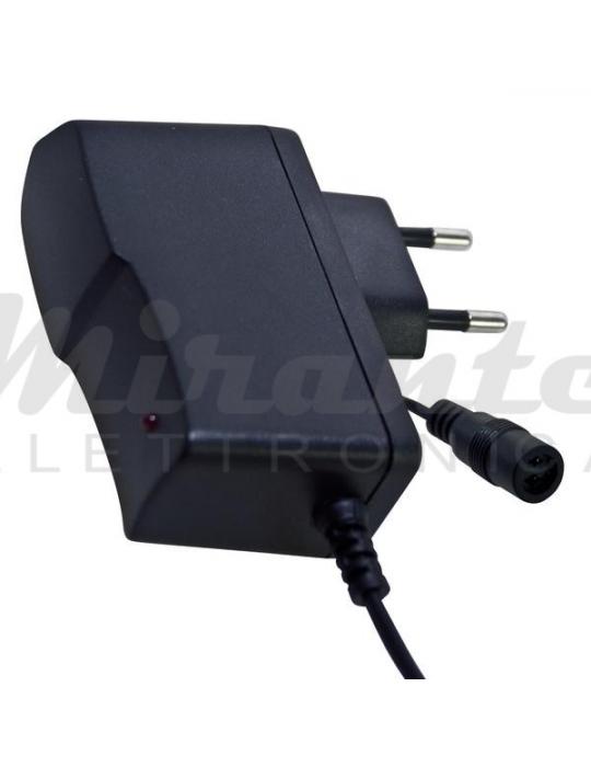 ALIMENTATORE SWITCHING 12Vdc 2A (24W) CON 2 CONNETTORI mirante elettronica acilia