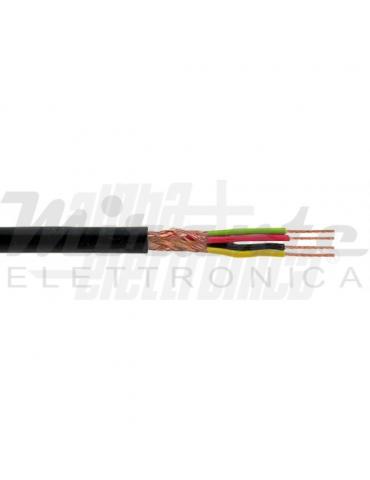 Alpha Elettronica WTR144 Cavo schermato 4 Fili 4x0,22mm²