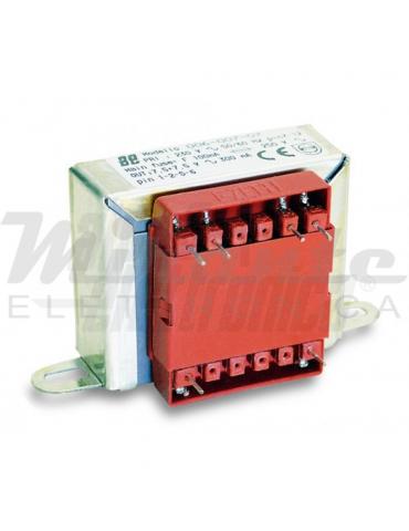 Alpha Elettronica Trasformatore per PCB 6W, 12+12V ac
