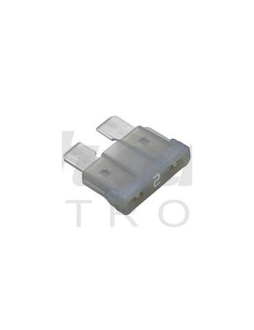 Fusibile Grigio a Lama 19.0mm 2 Amp 32V
