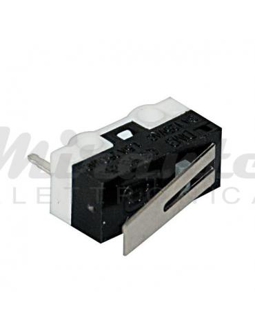 Microswitch Microminiatura con Leva 250Vac 1,5A