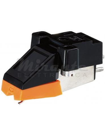 EN-24 Monacor Testina Shell stereo magnetica completa di puntina per giradischi di diamante