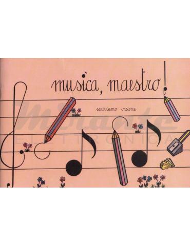 Musica, Maestro! Quaderno pentagrammato, 4 pentagrammi
