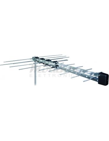 Metronic 425017 Antenna Logaritmica LTE 4G UHF-VHF