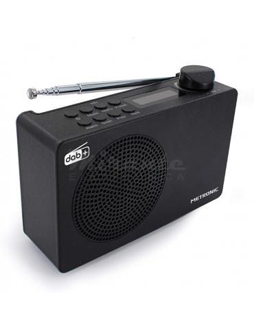 Metronic Radiosveglia digitale DAB+ e FM RDS