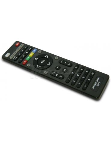 Metronic Telecomando universale 4 in 1 per TV e Decoder