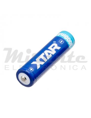 XTAR Batteria Li-Ion 18650 3,6v 3000mAh