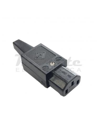 Elcart Connettore VDE presa femmina IEC C13