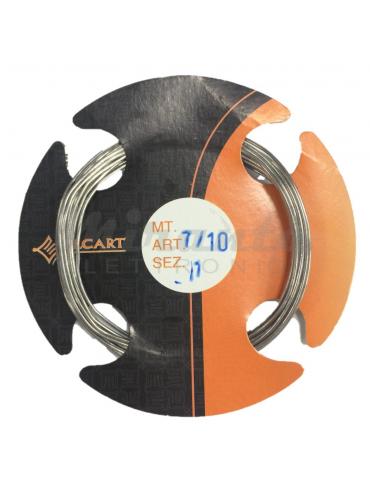 Rocchetto Stagno Sn60/Pb40, 1 mm, confezione da 20gr