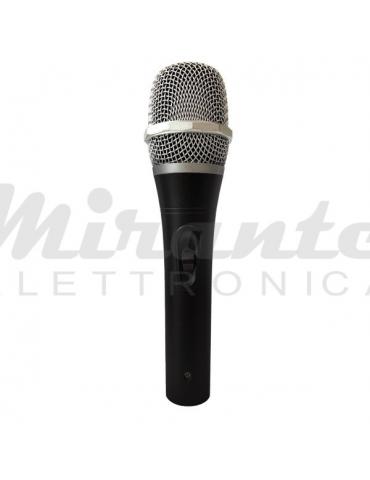ZZIPP ZZDM1500 Microfono Dinamico a Filo per Voce Karaoke DJ con Cavo
