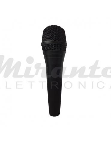 ZZIPP ZZDM2300 Microfono Dinamico a Filo per Voce Karaoke DJ con Cavo