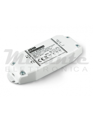 12Vdc 15W - Alimentatore per Led a tensione costante