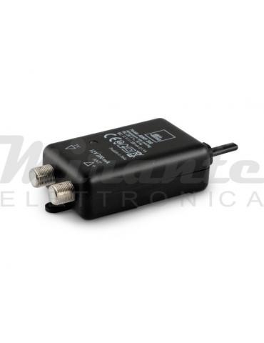 Alimentatore Slim per amplificatore antenna - 12V 200mA - Con connettori F