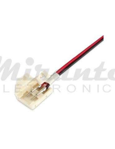 10mm Cavo per collegare Strisce Led Monocolore, lunghezza 15cm