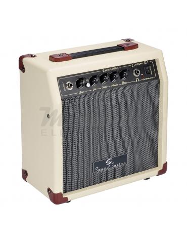 Soundsation 10W Amplificatore Combo per chitarra, Cream