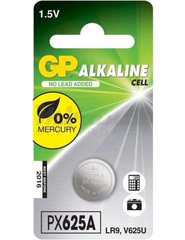 PX625A GP Pila Alcalina Bottone