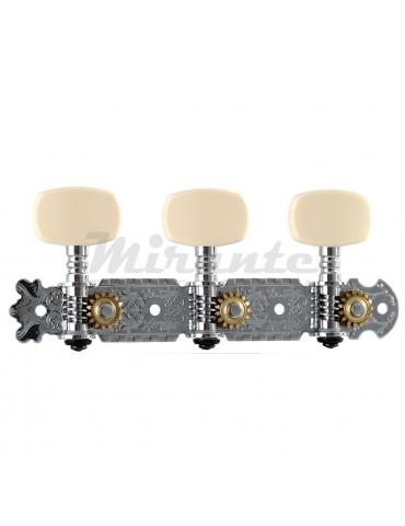 Soundsation Meccanica per chitarra classica cromate con perno in metallo