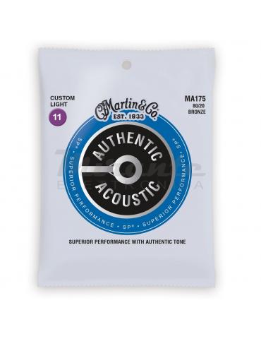 MARTIN MA175 Authentic Acoustic SP 80/20 Bronze, Custom Light